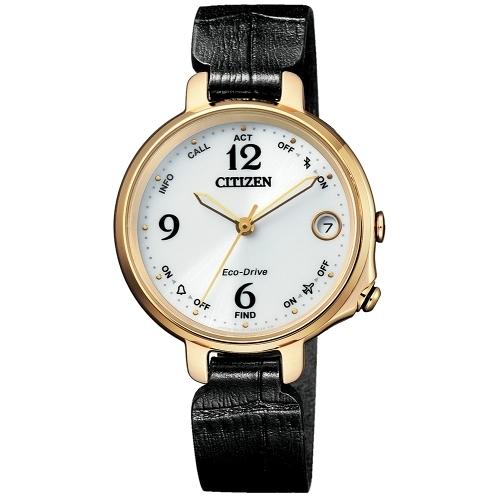 CITIZEN 星辰LADYS優雅質感藍芽光能腕錶/EE4022-16A