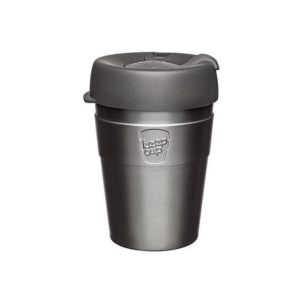 【KeepCup】雙層真空隨身杯340ml(12oz) M -鎧甲銀
