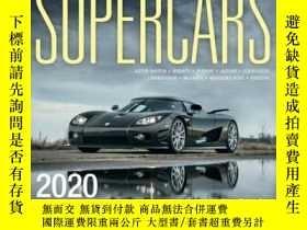 二手書博民逛書店Supercars罕見2020: 16 Month Calend