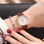 手錶2020年新款韓版簡約ins風女中學生時尚男表防水夜光情侶手錶一對【全館免運九折下殺】