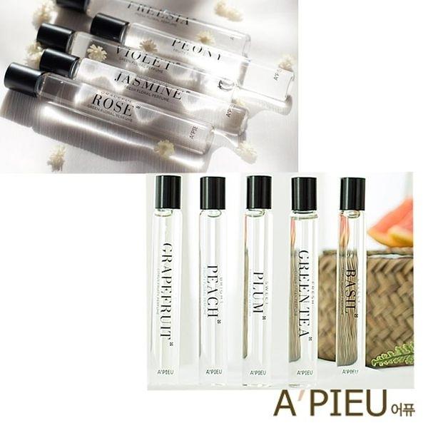 [現貨] 韓國 APIEU 香氛滾珠香水瓶 10ml 小香水 香氛 滾珠香水 Jo malone A pieu APIEU