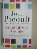 【書寶二手書T1/原文小說_C3M】Small Great Things_Jodi Picoult