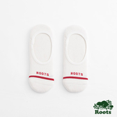 Roots-配件- 條紋隱形襪 (男) - 白色