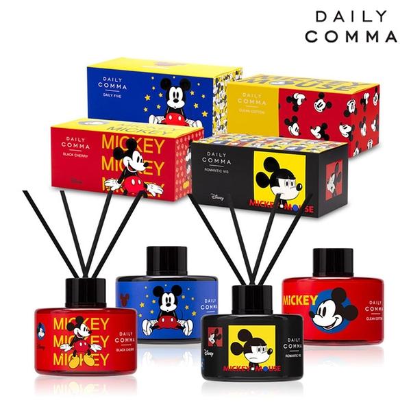 韓國 Daily Comma X Mickey Mouse 限定版香氛擴香瓶 200MLx2入組【SP嚴選家】