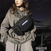 斜挎胸包男士韓版時尚潮流多功能單肩工裝包日系大容量學生背包女