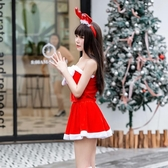 聖誕節服裝女性感成人兔女郎cos舞會酒吧聖誕老人衣服ds演出衣服 亞斯藍