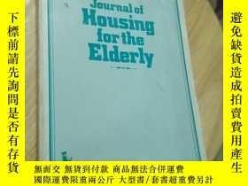 二手書博民逛書店journal罕見of housing for the elderly,volume4,no.1 spring 1