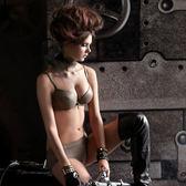 【瑪登瑪朵】魔酷風革─輕革款  B-D罩杯內衣(大地棕)(未購滿4件恕無法出貨,退貨需整筆退)
