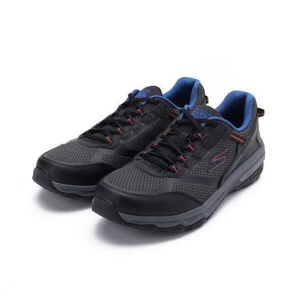 SKECHERS 慢跑系列 GORUN TRAIL ALTITUDE 綁帶越野運動鞋 深灰 220111BKOR 男鞋