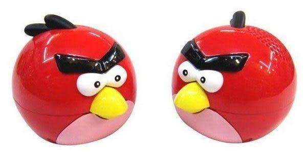 【強尼3C】插卡小鳥音箱 憤怒的小鳥 音箱 插卡音箱 手機音箱 帶FM收音 送USB充電器