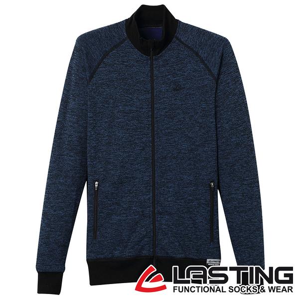 丹大戶外用品【LASTING】女款美麗諾羊毛保暖外套 LT-WALY 麻花藍