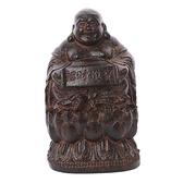 財神爺{土沉木精雕極品}高7公分 十方佛教文物
