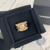 BRAND楓月 CHANEL 多彩寶石 浮誇 戒指