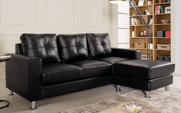 【森可家居】克萊得L型沙發全組 8CM703-5 皮沙發