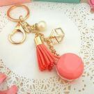 婚禮小物-馬卡龍鑰匙圈