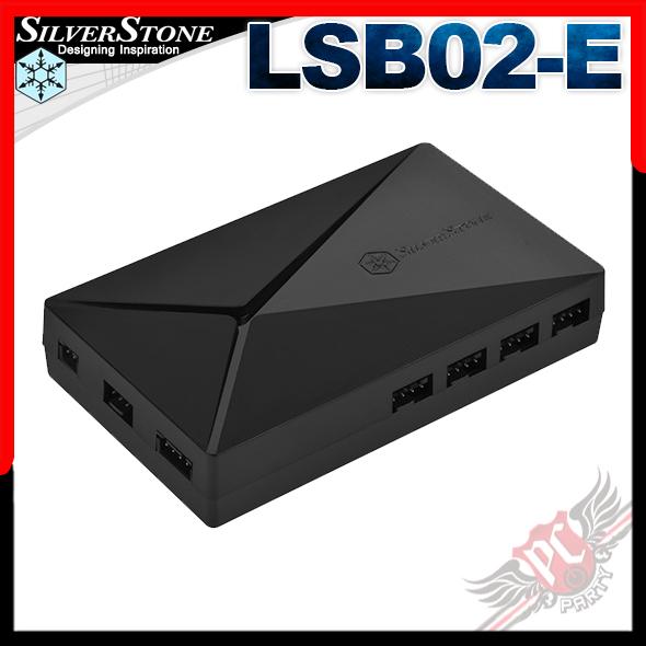 [ PC PARTY  ] 銀欣 SilverStone LSB02-E ARGB 控制器