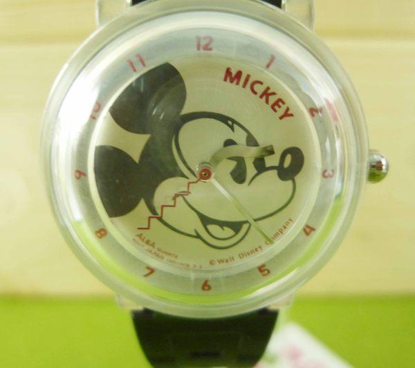 【震撼精品百貨】米奇/米妮_Micky Mouse~手錶-透明白