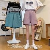 短褲實拍 寬鬆休閒短褲女 阿卡娜
