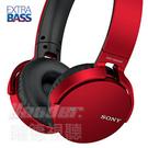 【曜德★送收納盒】SONY MDR-XB650BT 紅色 重低音無線藍芽耳機