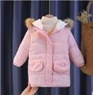 兒童棉服女 女童棉服2021新款春季大兒童棉衣洋氣冬裝加厚外套短款羽絨【快速出貨八折下殺】