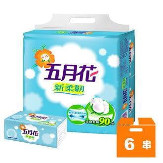 五月花MayFlower 新柔韌抽取式衛生紙 (100抽x10包)x6串/箱【售完為止】