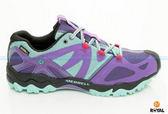 MERRELL 新竹皇家 GRASSBOW SPORT GORE-TEX 紫綠 防水 水陸兩棲 運動鞋 女款 NO.I5704