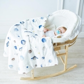店長推薦 初生兒秋冬夾棉款嬰兒包被加厚全棉新生兒抱被寶寶襁褓抱毯