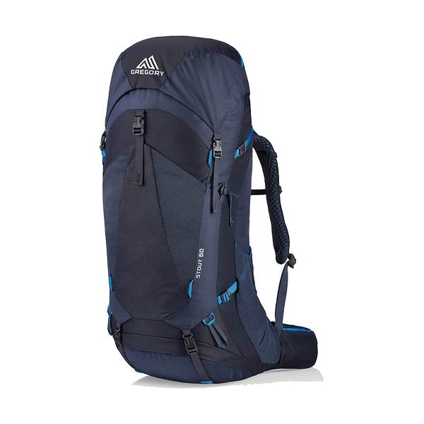 [GREGORY] STOUT 60L 專業登山背包 幻影藍 (GG126873-8320)