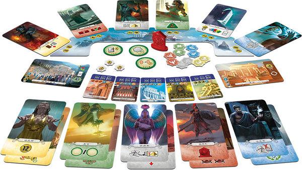 『高雄龐奇桌遊』 七大奇蹟對決 擴充 帕特農 繁中版 7 Wonders Duel: Pantheon ★正版桌上遊戲專賣店★