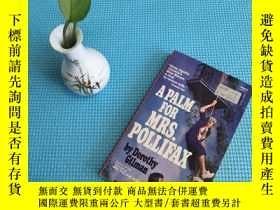 二手書博民逛書店A罕見Palm for Mrs. Pollifax Dorothy GilmanY205819