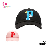 PUMA 帽子芝麻街 流行系列棒球帽 老帽 鴨舌帽 可調整 黑色 粉紅 A0525 A0526◆OSOME奧森鞋業