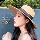MD韓【A09200076】藤編紳士帽- 3色