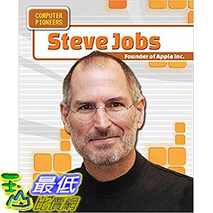 [106美國直購] 2017美國暢銷兒童書 Steve Jobs: Founder of Apple Inc. (Computer Pioneers) Paperback