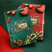 圣誕筆記本子密碼本帶鎖日記本手賬本