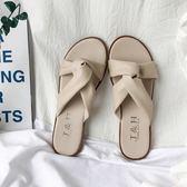 拖鞋女外穿時尚百搭夏季新款ins平底防滑海邊度假沙灘涼拖鞋