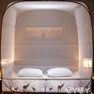 蚊帳蒙古包蚊帳家用免安裝1.8m床防摔兒童夏季折疊防蚊罩LX 愛丫 新品