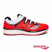 SAUCONY TRIUMPH ISO 4 專業訓練鞋款-白x黑x橘紅