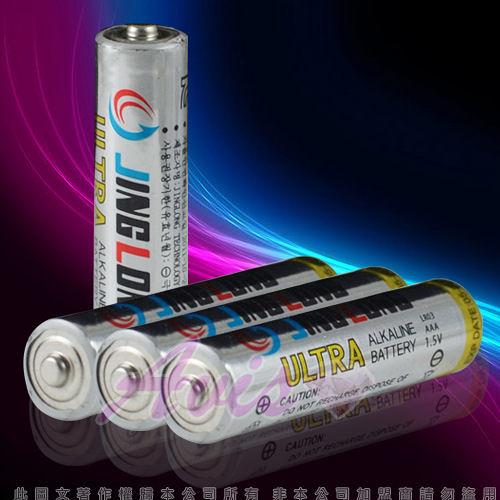 4號電池系列 情趣用品  JING LONG四號電池 LR03 AAA 1.5V-四入 +潤滑液1包