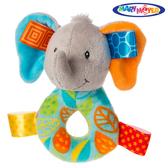 MaryMeyer美國蜜兒 可愛造型搖鈴標籤 安撫系列-葉子小象