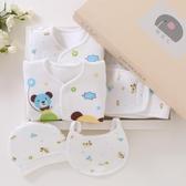 純棉新生兒禮盒初生嬰兒衣服套裝秋冬0-3個月6夏季剛出生寶寶用品