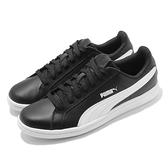 Puma 休閒鞋 Smash L 皮革 黑 白 男鞋 女鞋 基本款 百搭系列 【ACS】 35672214