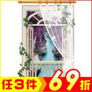 創壁貼-溪谷直立紗窗風景畫 SK9022A-1016【AF01013-1016】JC雜貨