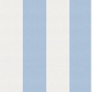 歐NINE壁紙-藍白寬紋 89086