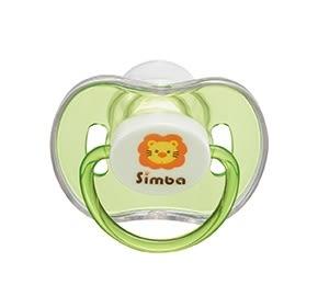 『121婦嬰用品館』小獅王辛巴 糖果拇指型安撫奶嘴-綠色(初生)