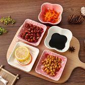 碟子 陶瓷小碟子調料碟家用餐具盤小吃碟蘸醬碟醋碟火鍋調味碟 莎瓦迪卡