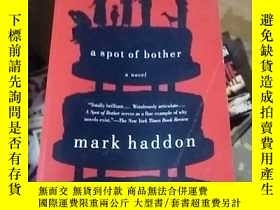 二手書博民逛書店a罕見spot of bother mark haddonY15