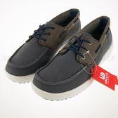 零碼出清~SNAIL~輕便 透氣 網布 休閒鞋 帆船鞋-灰 (S-2150109)