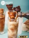 製冰模具 網紅小熊冰塊模具硅膠冰熊立體創意玫瑰冰凍咖啡奶茶巧克力冰雕模 榮耀 上新