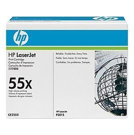 HP ㊣原廠碳粉匣 CE255X (55X) 黑色 高容量 適HP P3015X/15X/3015/P3015/P3010/P3013DN/P3016/P3055印表機
