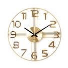 手錶 時鐘 簡約 掛鐘 鍾【R0022】a.cerco 十字星數字設計鐘/時鐘 收納專科